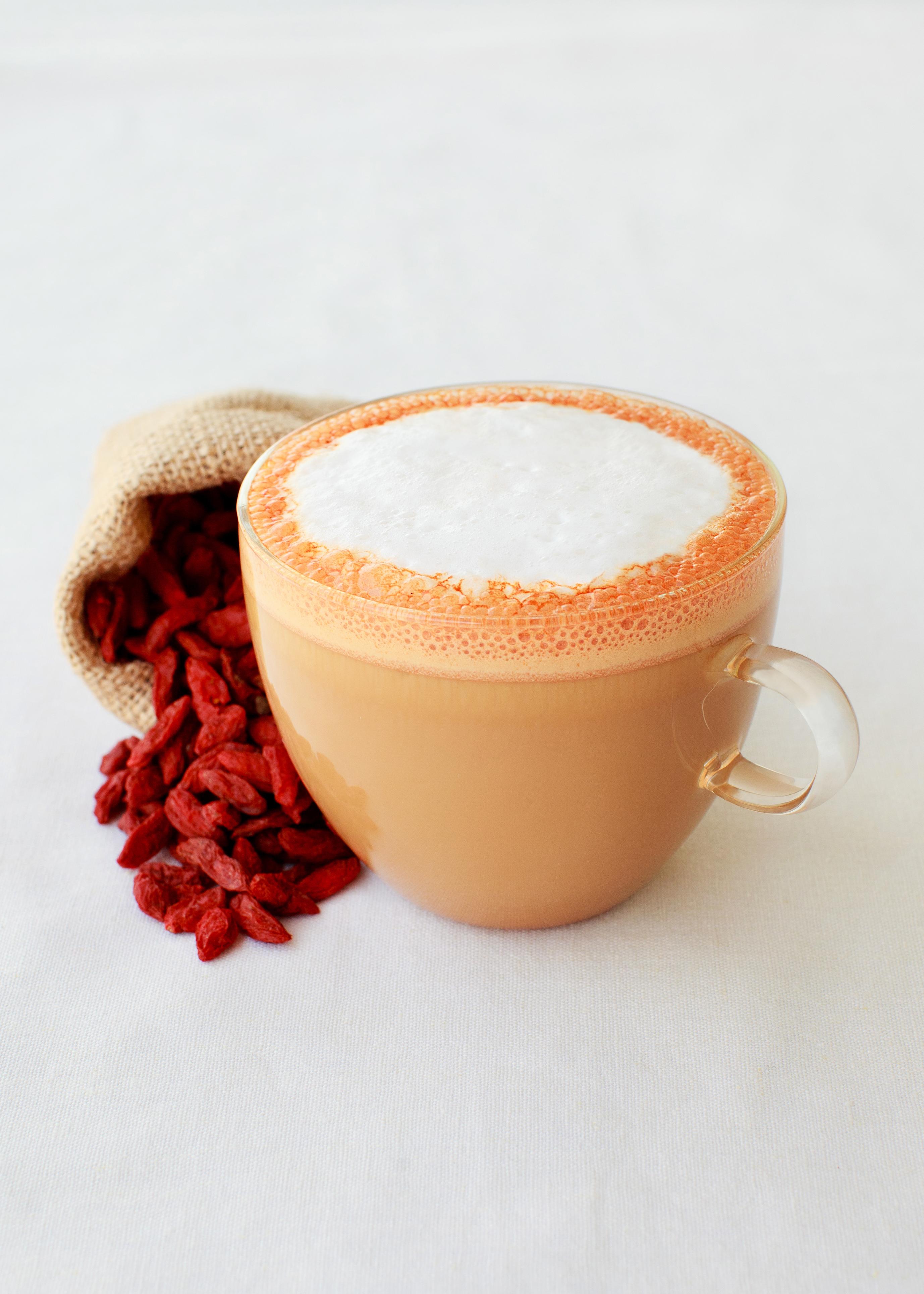 Gojiccino Latte